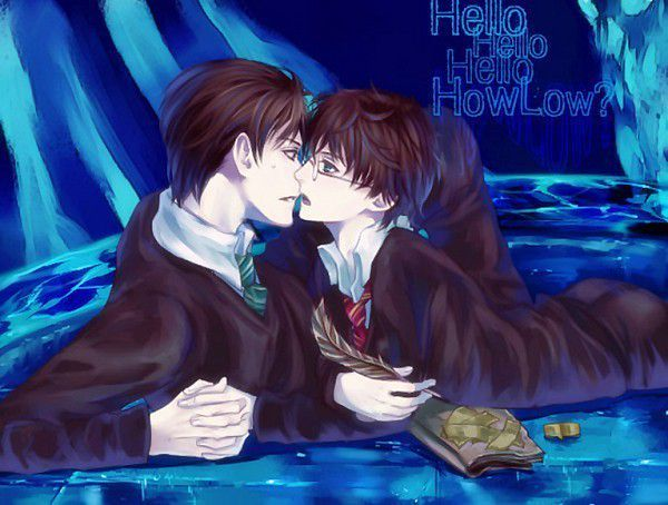 Team Horcrux A Harry X Voldemort Tom Escape Harry Potter Anime Anime Voldemort