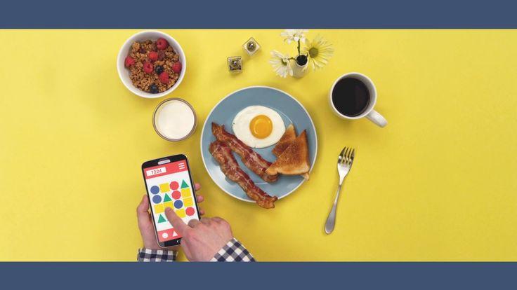 IBM phone and food