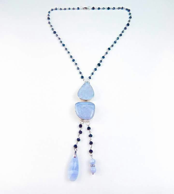 blue lace agat.spinel