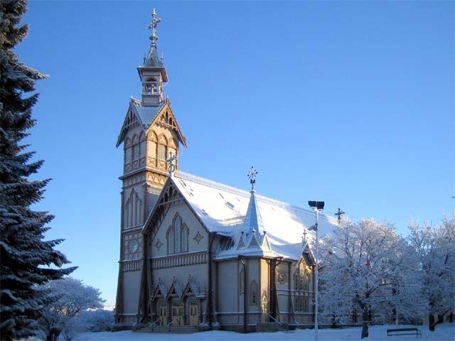 Kajaanin kirkko. Kuva: MV/RHO Selja Flink 2007