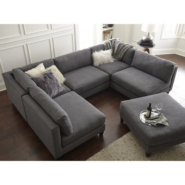 Chelsea Reversible Sleeper Sectional With Ottoman Design