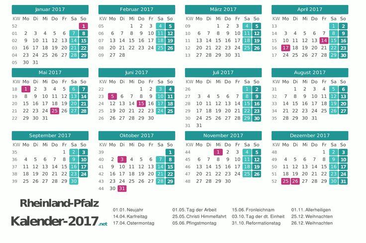 Kalender 2017 für Rheinland-Pfalz http://www.kalender-2017.net/feiertage-rheinland-pfalz/
