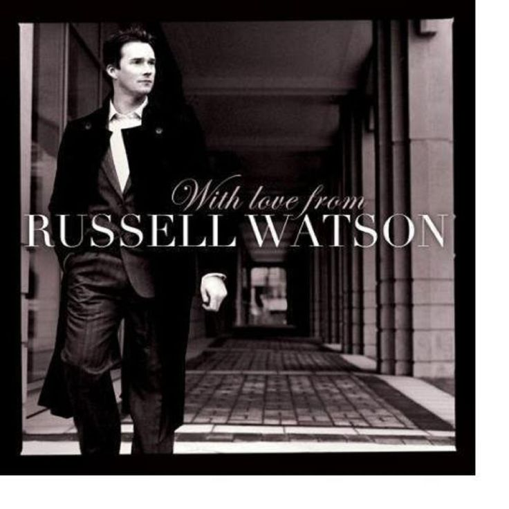 Russell Watson-With Love From Russell Watson CD #Tenor
