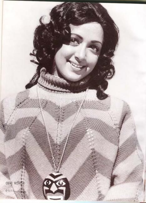 Hema Malini - the most beautiful actress of all time, in my opinion... bubbly, chubby, and pristine