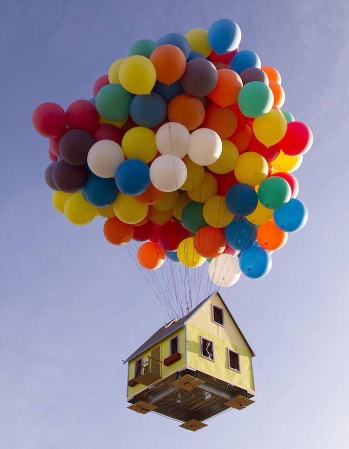 A Real-Life Version of The Animated Film 'Up'