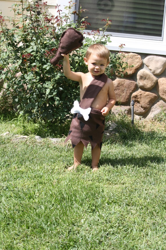 bam bam costume Flintstone costumes cave man by @HTHRGRC3HEATHER via @Etsy