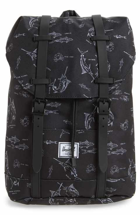 c5add67e00ed0 Herschel Supply Co. Retreat Fish Print Backpack (Kids)