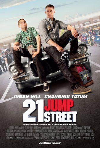 21 Jump Street Movie Poster #02 24x36 2012 Channing Tatum 24x36