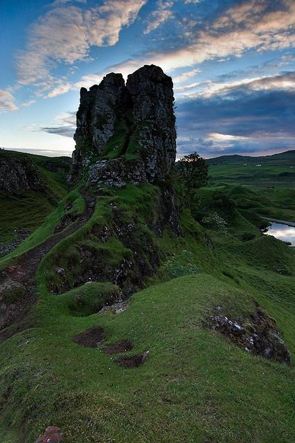 McEwen Castle, Scotland