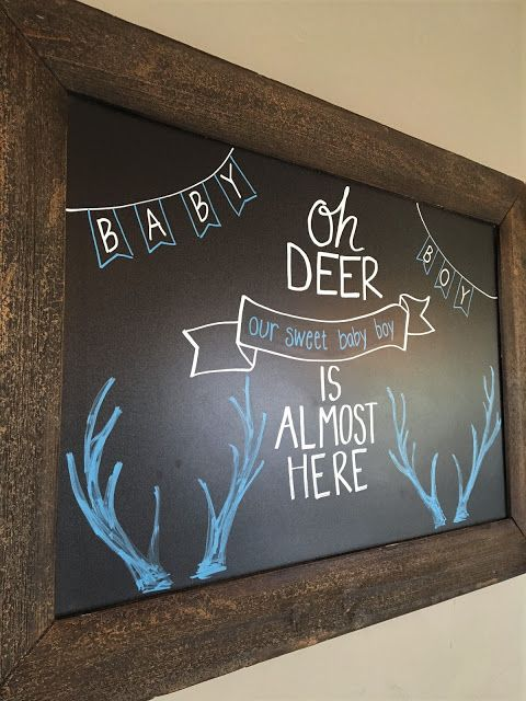 Deer and arrow baby shower. Desserts for baby shower. Blue and gold. Baby Boy.