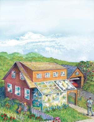 Build Your own Passive Solar Water Heater A passive solar water heater can be simple to construct and reduce your utility bills. We'll explore the various types of solar water heaters, and learn to build an easy and affordable model.
