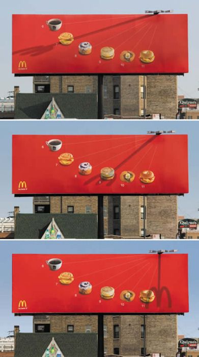 not bad mcdonalds.  #advertising this is awesome.