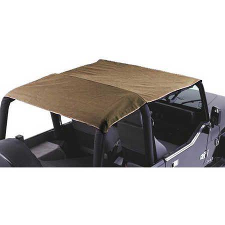 Bestop Header Safari Bikini Tops for 97-02 Jeep® Wrangler TJ | Quadratec