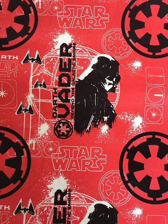 Rogue One Star Wars Red All Cotton Lunch Box Kids by Smartkin