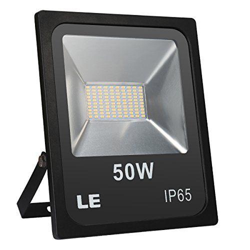 LE Projecteur LED 50W Eclairage Extérieur Lumière du jour ou Lumière Blanche Chaude: Projecteur lumière puissant : avec 100 unités…