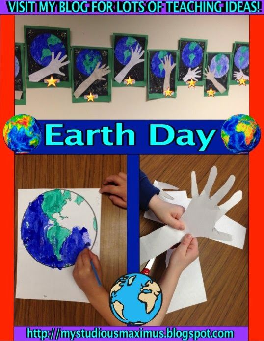 Earth day activities.