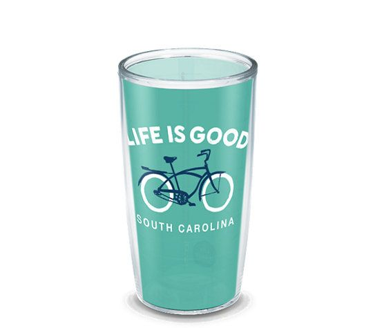 Life is Good® - South Carolina Bike Wrap | Tervis Official Store