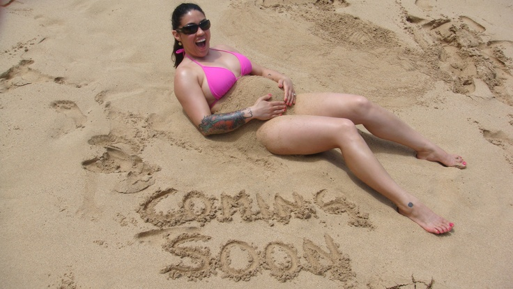 COMING SOON!!! baby pregnancy announcement sand baby belly!!!