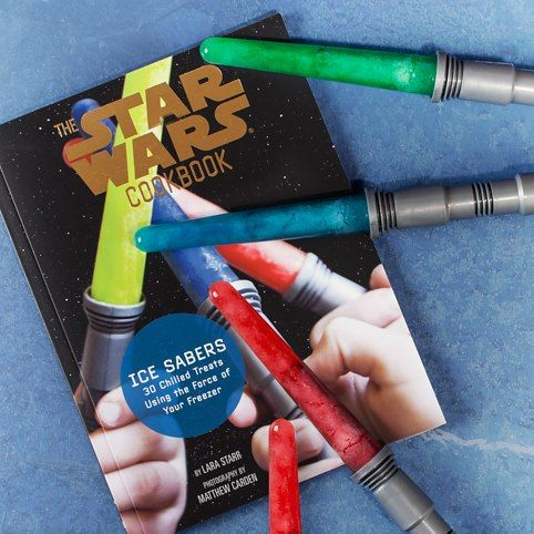 Star Wars Cookbook with Ice Sabers from Firebox.com