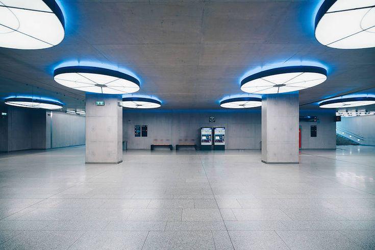 Focus on the Beauty of Symmetry in the Underground of Budapest – Fubiz Media