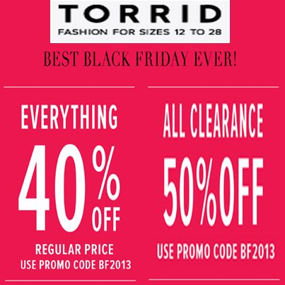 Torrid coupon codes