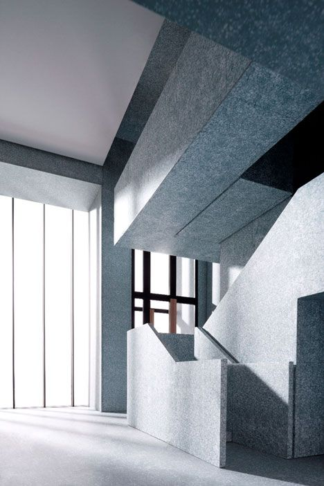 Valentino flagship store, Fifth Avenue, NYC. David Chipperfield Architects.