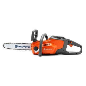 Husqvarna 120I 40-Volt Max-Volt Lithium Ion (Li-Ion) 14-In Brushless Cordless Electric Chainsaw Bare Tool Only (Tool Onl