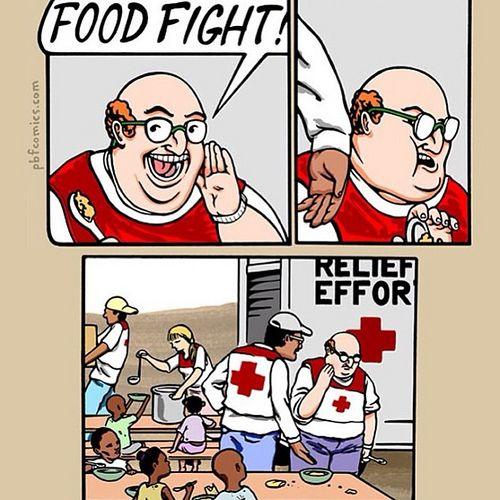 Food Fight Dark Humor 9gag Funny Pinterest Humor