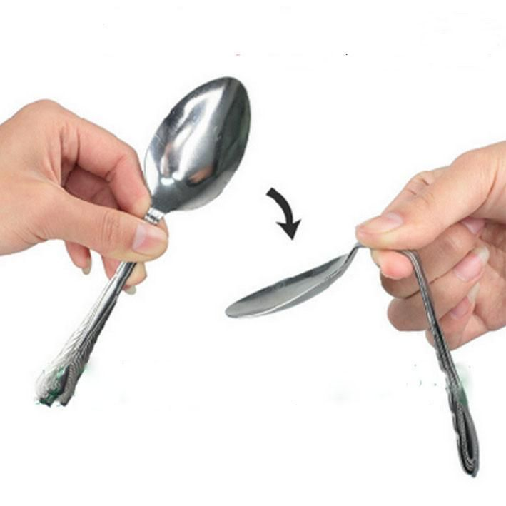 Magic Tricks Kids Children Adult Toys Bend Spoon Bending Gimmick Close-Up Street Stage