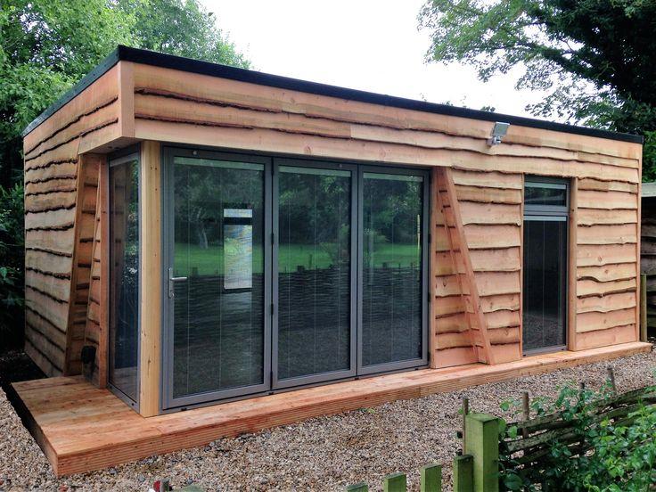 Larch cladding Luxury garden room in Oxford www.swiftorg.co.uk