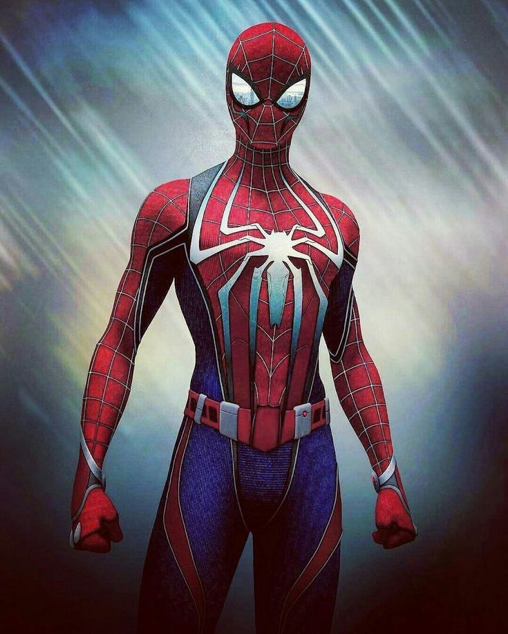 Streamlined Spidey outfit.