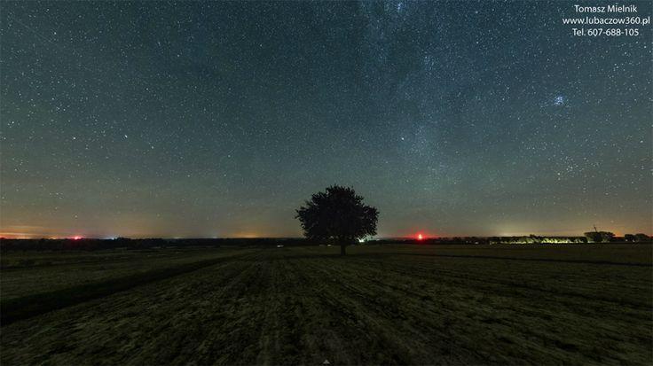www.lubaczow360.pl - Droga Mleczna - panorama 500 Mega Pikseli