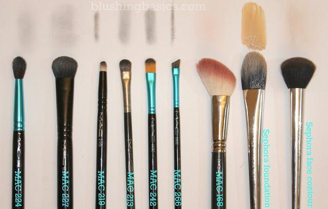 blushing basics: Makeup Brush 101