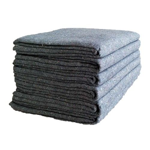 """Professional quality textile moving blankets Thinner, lighter & more economical. Ideal for one-time moves. Protects furniture and valuables from light scratches, dust and dirt. Durable lightweight textile moving skins. Brown 54"""" x 72"""" Recycled Cotton Fiber Set of 12  #Move #Moving blankets #DIY Moving #Professional Movers $34.75"""