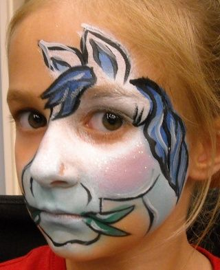housefly face painting | Re: Facepainting begining with'H' - Update!