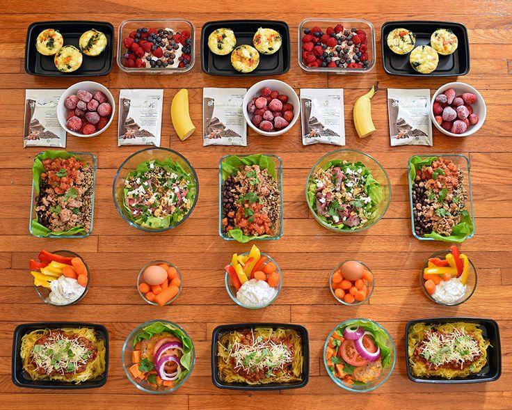 Core de Force Meal Plan for the 1,200-1,499 Calorie Level