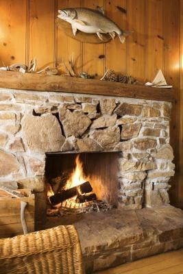 Stone Look Electric Fireplace