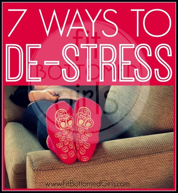 Think you don't have time to de-stress? Think again, and try these 7 stress management tips. We feel better already.
