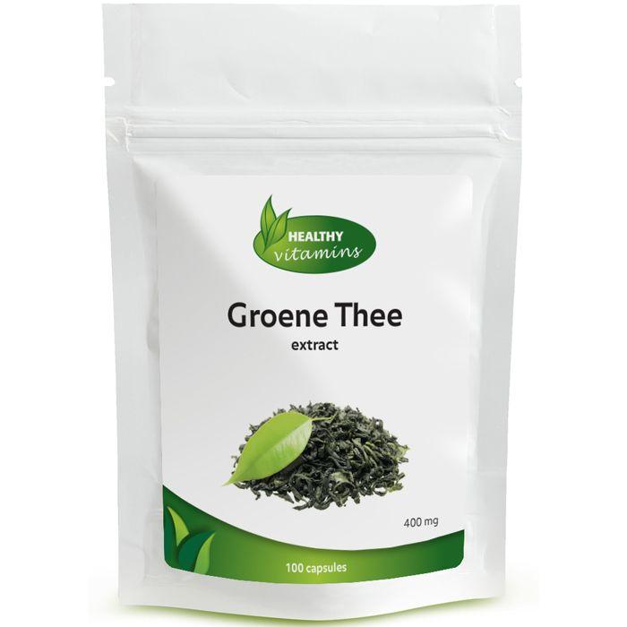 Groene Thee extract wordt vervaardigd uit de donkergroene bladeren van de camellia sinensis. Groene thee helpt de vetverbranding te verhogen. Groene thee extract bevat daarnaast veel polyfenolen. Polyfenolen zijn krachtige antioxidanten. Onze formule bevat vitamine C om het effect te versterken van de groene thee. Prijs per 100 capsules: €14,95