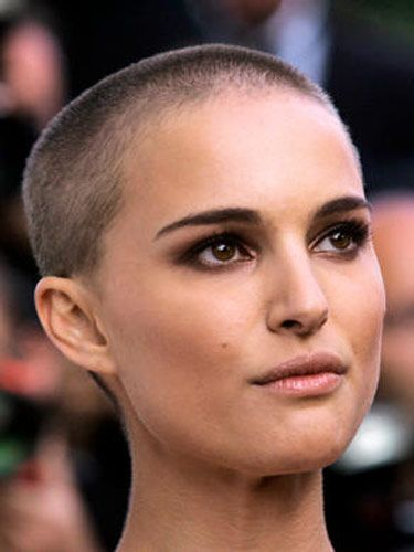 Natalie Portman. Probably the only woman in the world (or one of a very few!) able to pull off a shaved head.