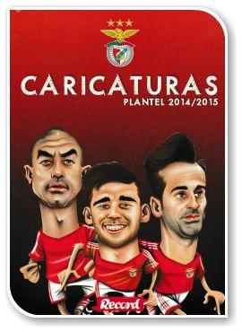 Caricaturas Plantel Sport Lisboa e Benfica 2014-2015