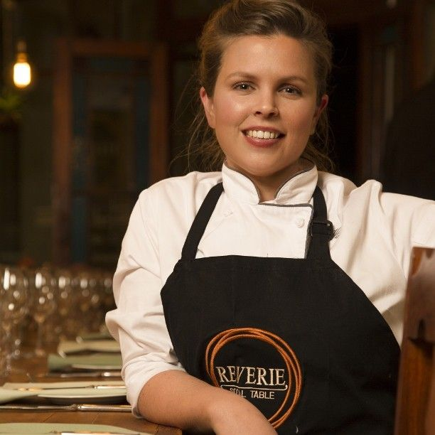 Chef Julia Hattingh, Reverie Social Table #CapeTown #Southafrica