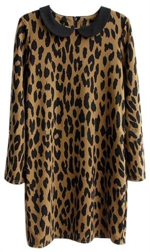 Shiftjurk met luipaardprint   Simpel model + juiste stof = perfecte jurk
