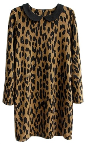 Shiftjurk met luipaardprint | Simpel model + juiste stof = perfecte jurk