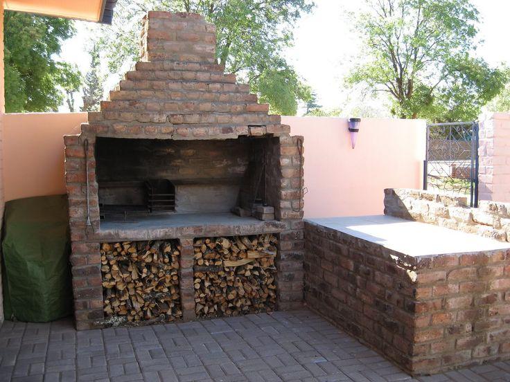 88 best braai room images on pinterest home ideas hide for Brick garden room designs