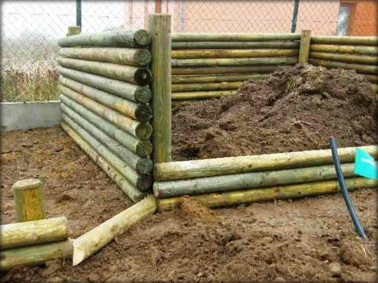 Stavba kompostu