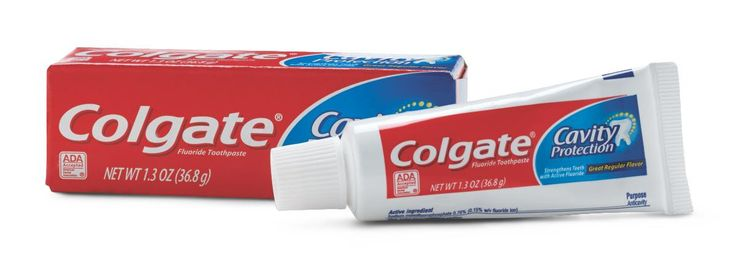 Colgate Toothpaste TOOTHPASTE, COLGATE  Colgate Toothpaste from PRO2Medical.com is pleasant tasting toothpaste which has fluoride for cavity prevention. It is l