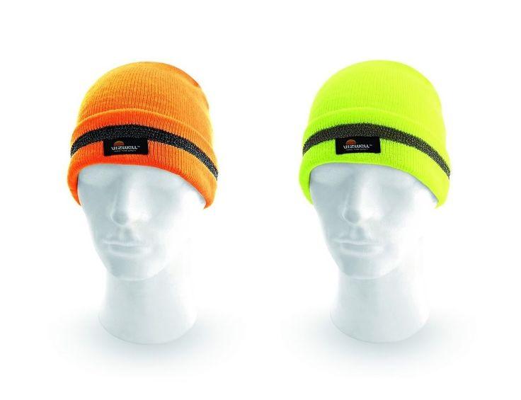 Czapka ostrzegawcza robocza Keady - polecana do pracy na drogach w okresie zimowym  Zaletą produktu jest wysoka postrzegalność. Kolor pomarańczowy i żółty HI-VIZ. Wykonana z ciepłej przędzy akrylowej w intensywnym kolorze.