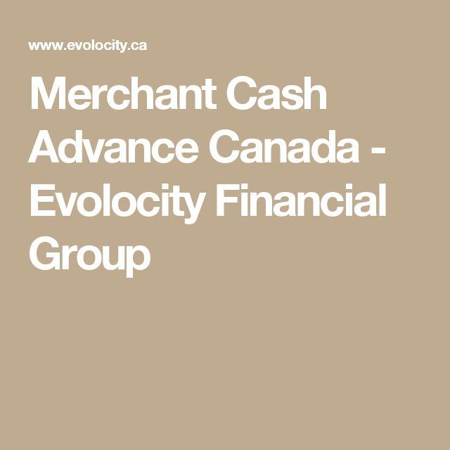 Merchant Cash Advance Canada - Evolocity Financial Group