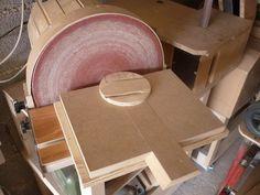 Circle edge sanding jig